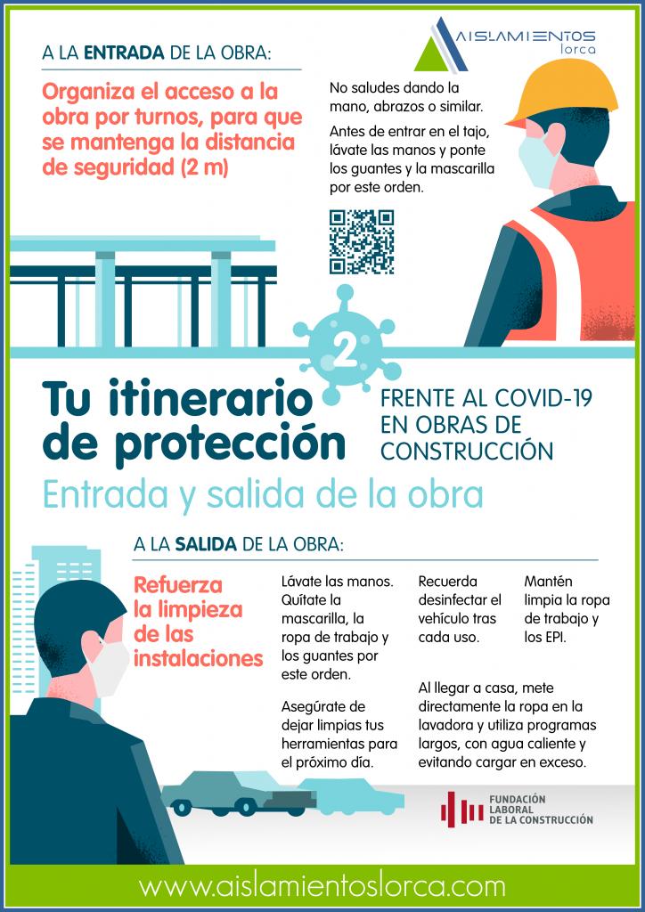 COVID-19. 01. Medidas preventivas en los desplazamientos a obra